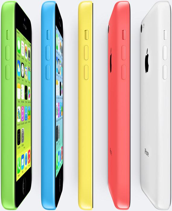 iPhone 5c colours