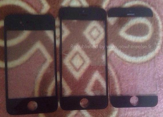 iPhone 6 rumor front panel