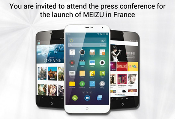 meizu France invitation