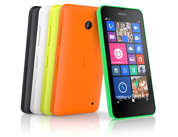 Nokia Lumia 630 back leak