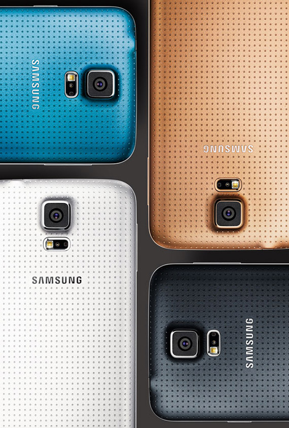 samsung galax -s5 colors