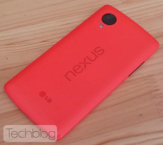 Nexus 5 red Greece