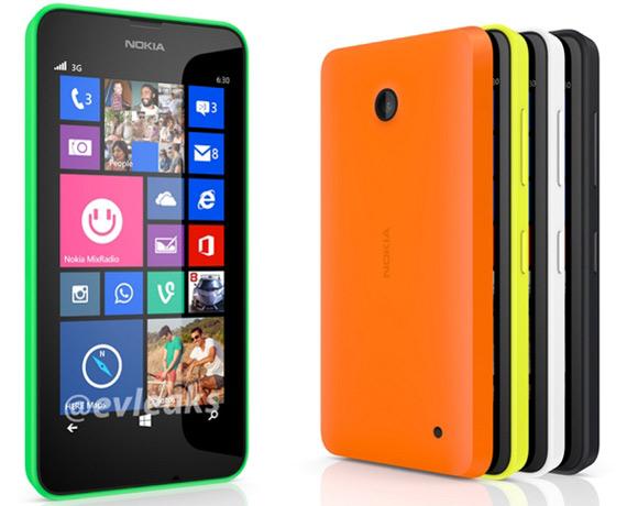 Nokia Lumia 630 evleaks