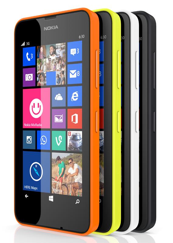 Nokia Lumia 630 revealed