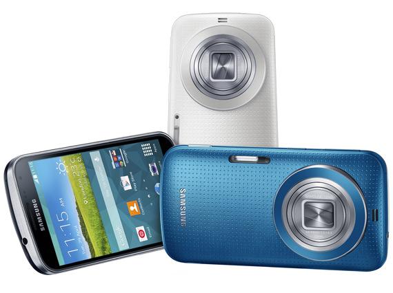 Samsung GALAXY K zoom revealed