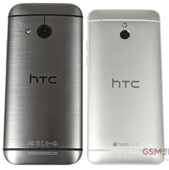HTC One mini 2 vs One Mini 1 back