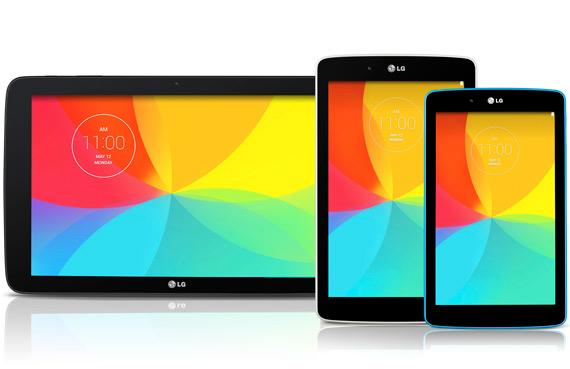 LG G Pad new series