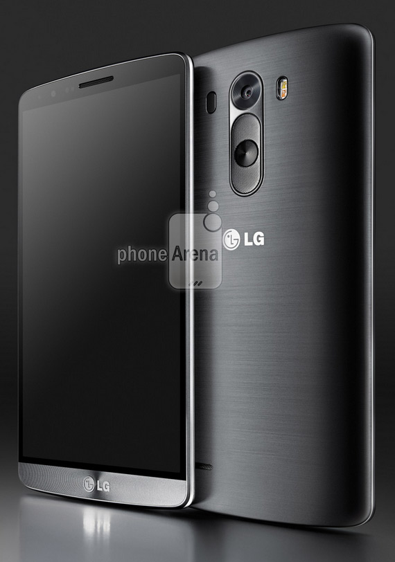 LG G3 press render black