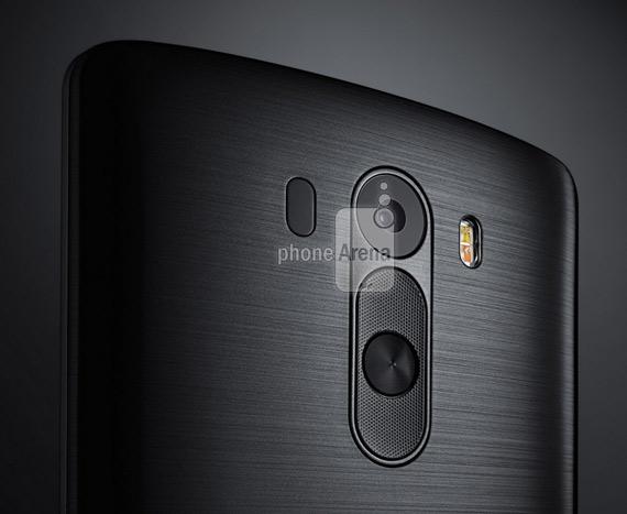 LG G3 press render camera