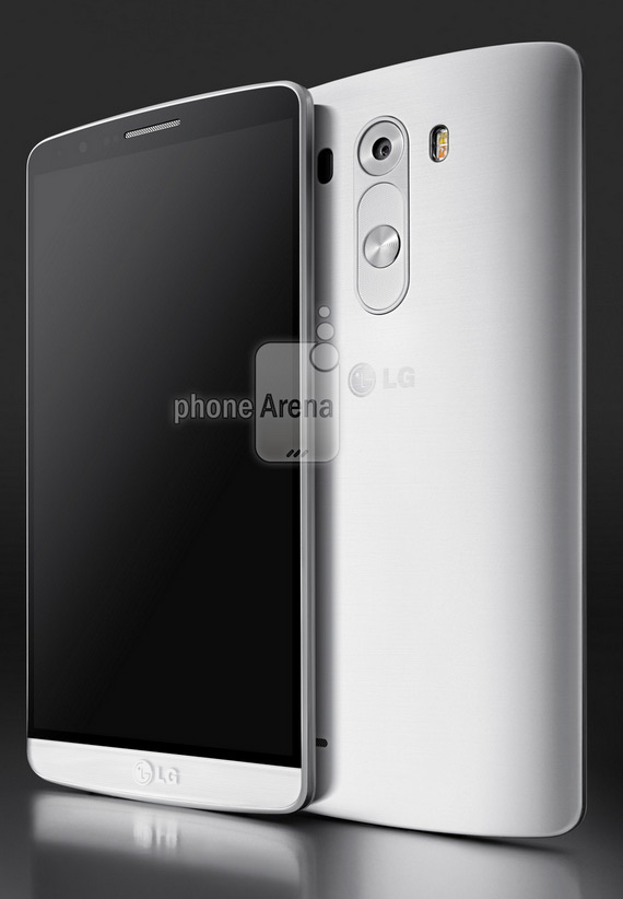 LG G3 press render white
