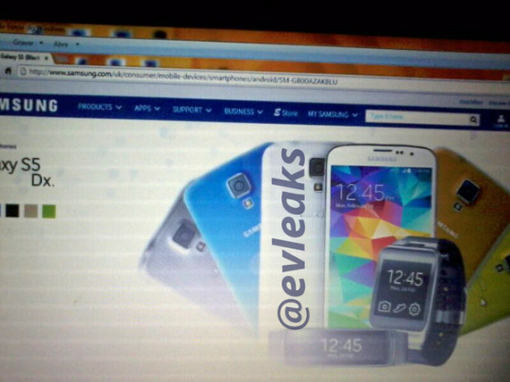 Samsung Galaxy S5 mini evleaks