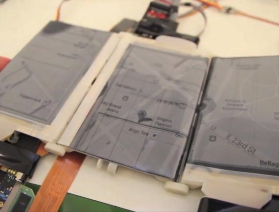Shape-shifting PaperFold