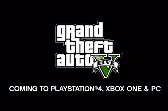 GTA V next gen and PC