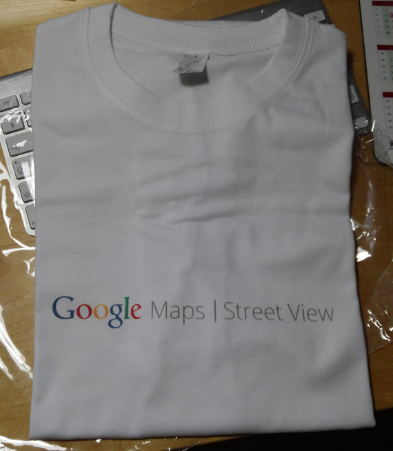 Google Street View t-shirt