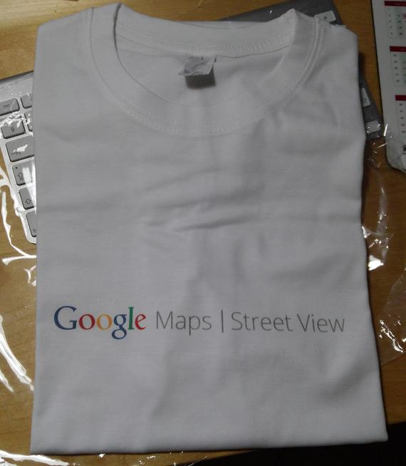 Google Street View t-shirt