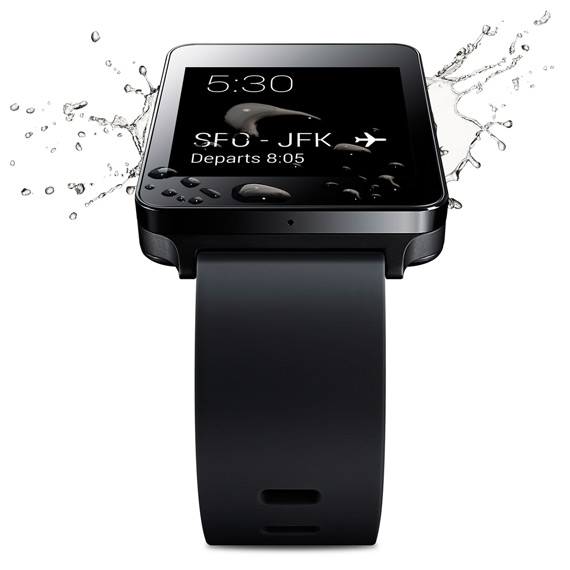 LG G Watch revealed