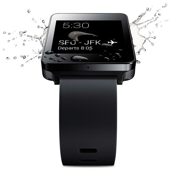 LG G Watch revealed