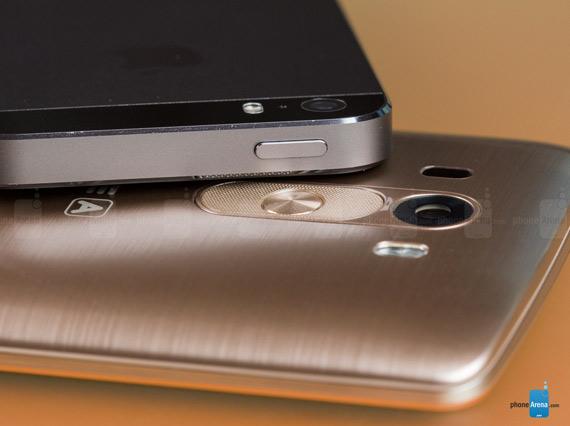 LG G3 vs iPhone 5s