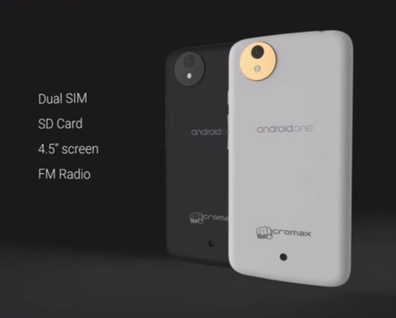 Micromax Android One smartphone