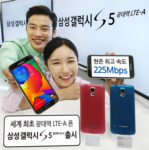 Samsung Galaxy S5 Snapdragon 805 Korea LTE-A