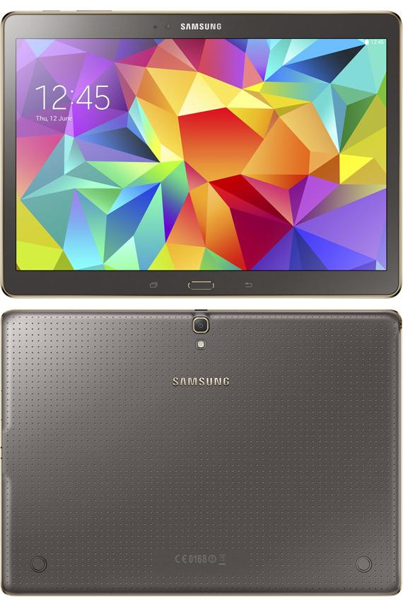 Samsung Galaxy Tab S 10.5 revealed