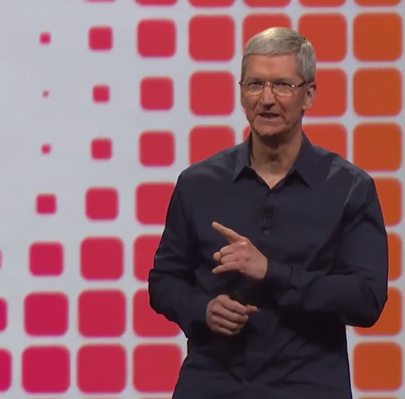 Tim Cook WWDC 2014