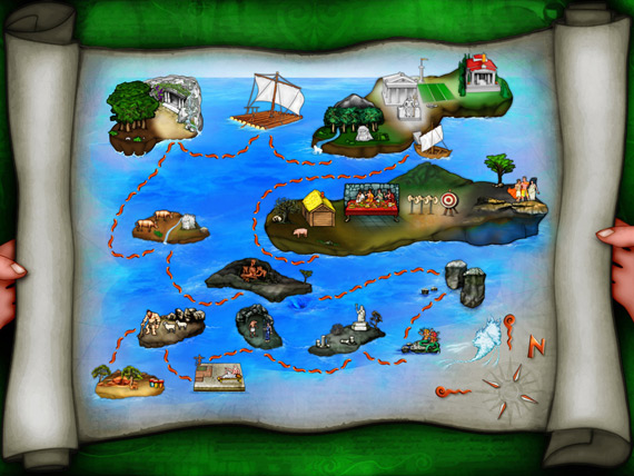 The Odyssey app