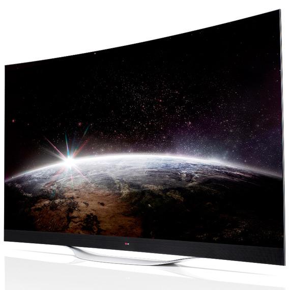 LG 4K OLED TV revealed