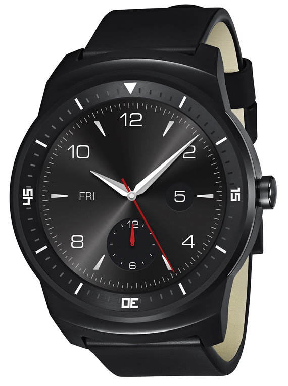 LG G Watch R revealed