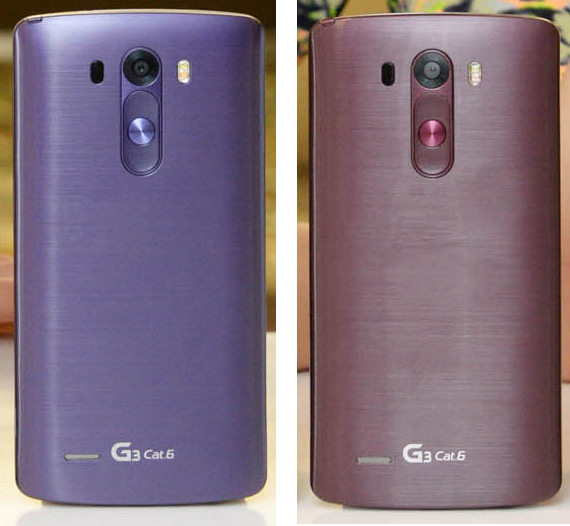 LG G3 Cat6 Violet Moon and Wine