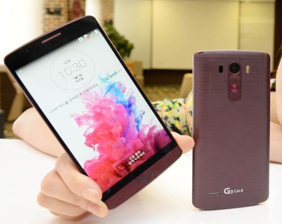 LG G3 Cat6 Wine color