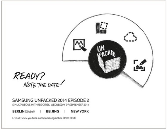 Samsung Unpacked event 2014 Note 4