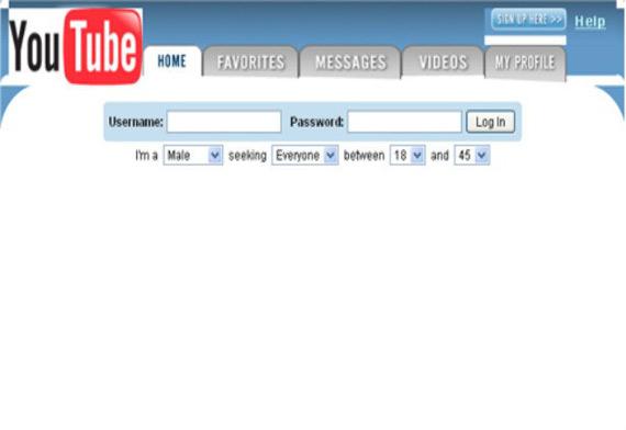 YouTube website past