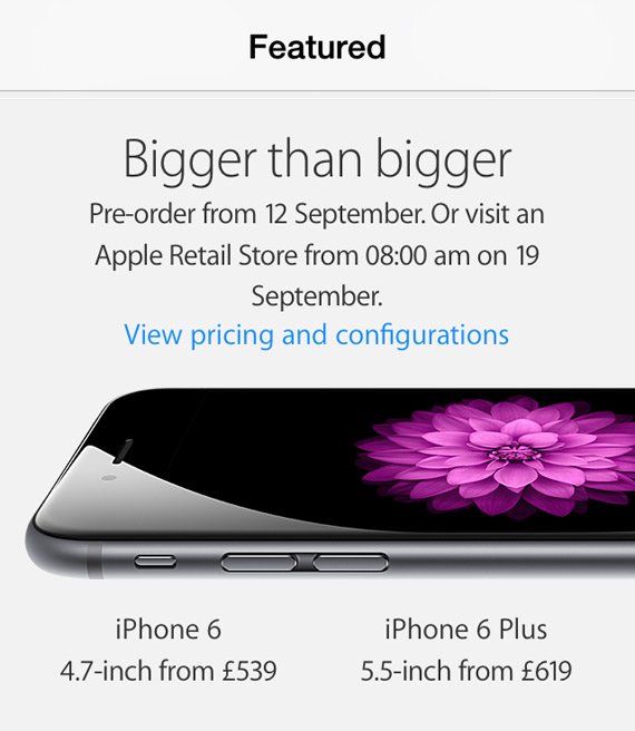 Apple UK prices