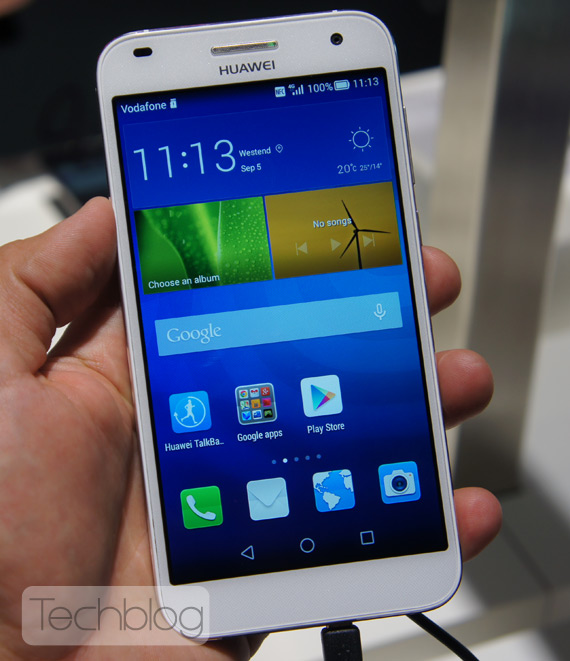 Huawei Ascend G7 hands-on ifa 2014