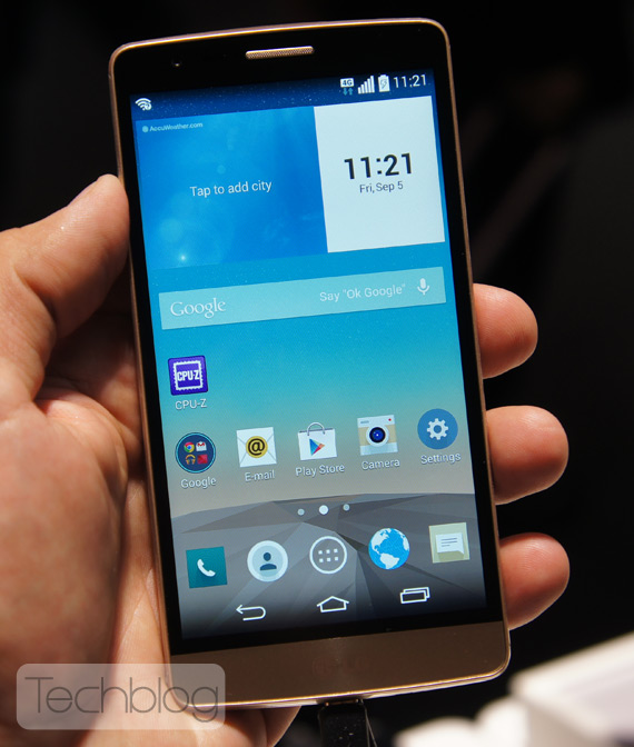 LG G3 S hands-on IFA 2014