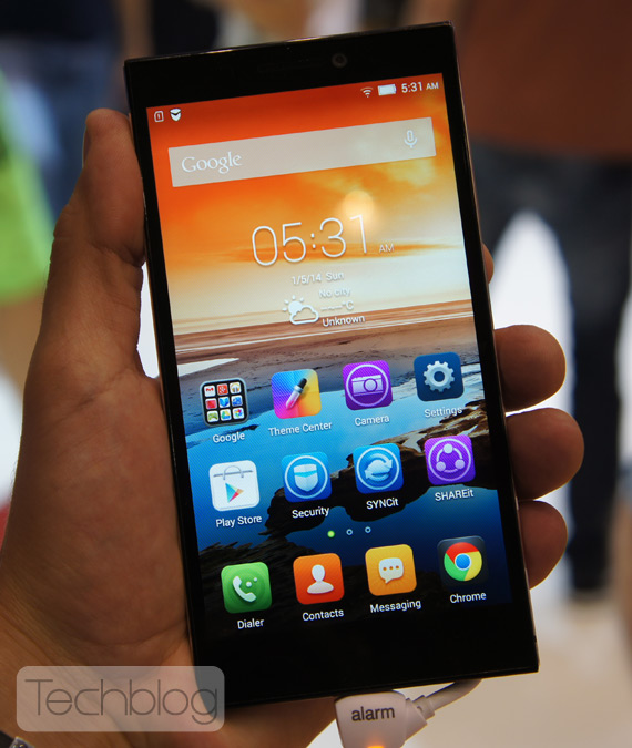 Lenovo Vibe Z2 hands-on IFA 2014