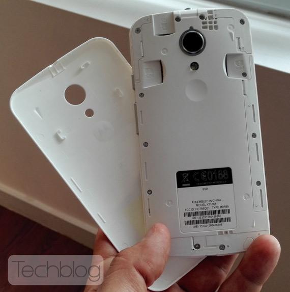 Νέο Motorola Motο G Dual φωτογραφίες hands-on