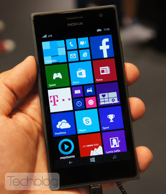 Nokia Lumia 735 hands-on IFA 2014