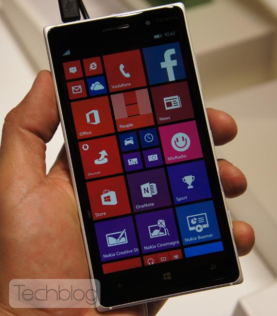 Nokia Lumia 830 hands-on IFA 2014