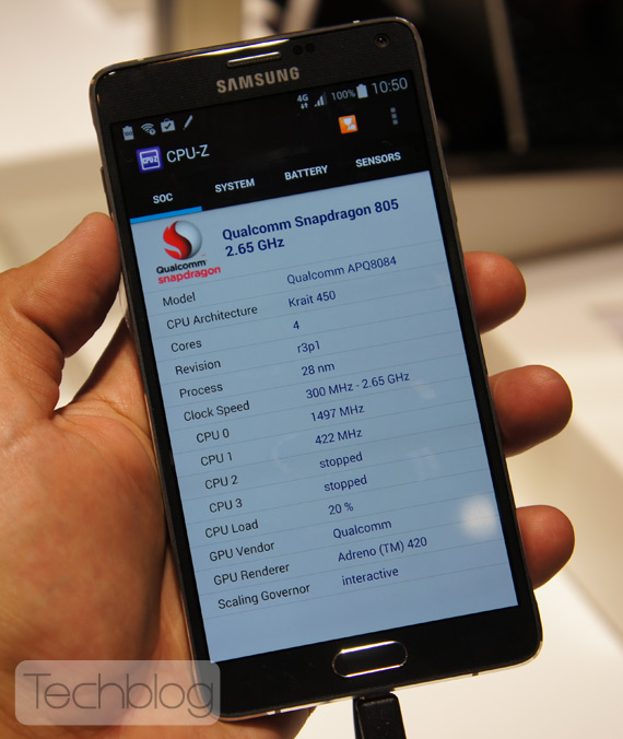 Samsung Galaxy Note 4h ands-on IFA 2014