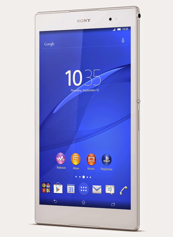 Sony Xperia Z3 Tablet Compact πλήρη τεχνικά χαρακτηριστικά και αναβαθμίσεις