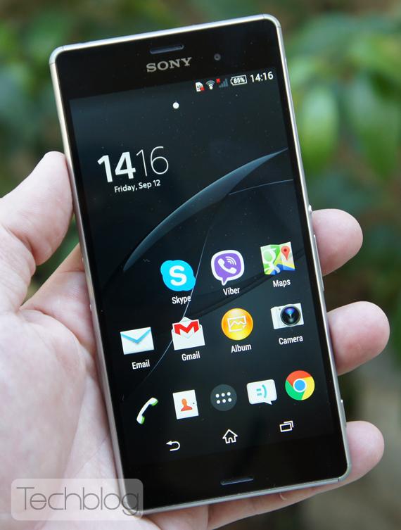 Sony Xperia Z3 ελληνικό βίντεο παρουσίαση