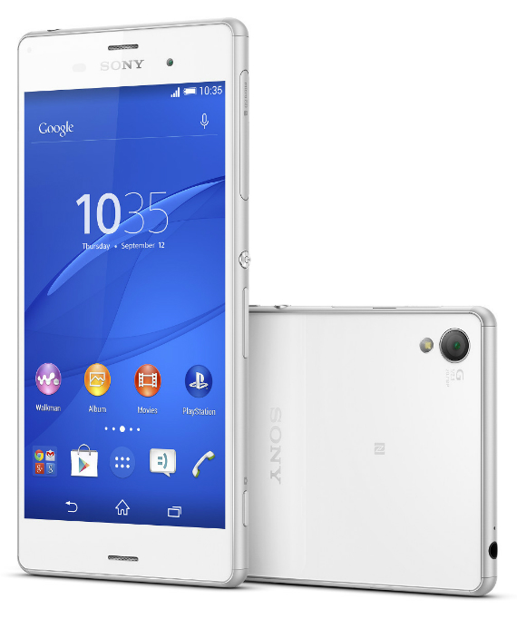 Sony Xperia Z3 πλήρη τεχνικά χαρακτηριστικά και αναβαθμίσεις