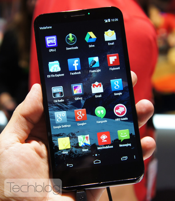 Vodafone Smart 4 Max hands-on IFA 2014