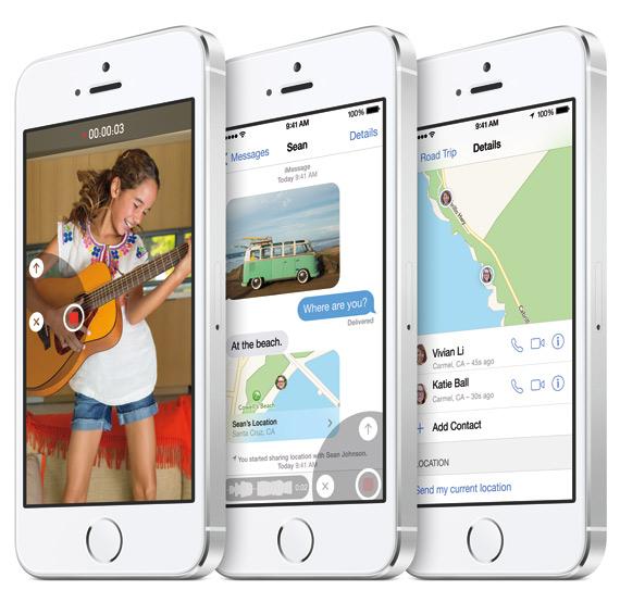 iOS 8 iPhone 5s
