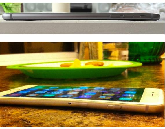 iPhone 6 Plus curved