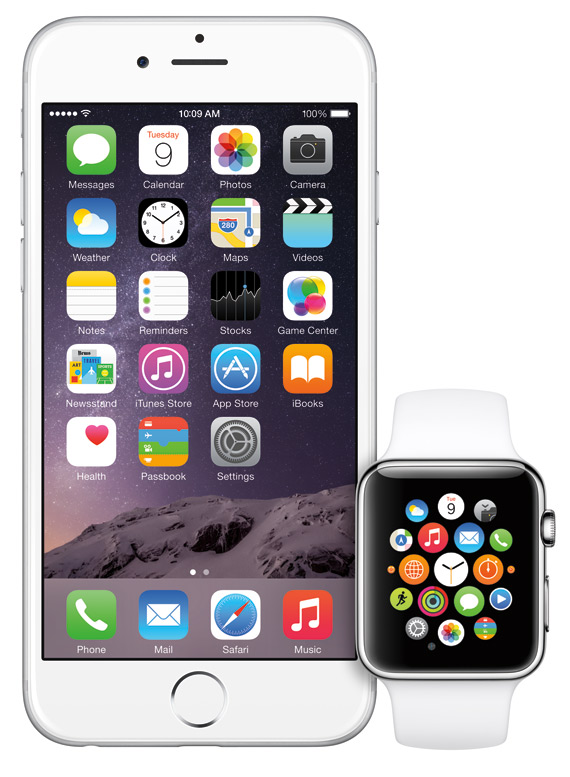 iPhone 6 and Apple Watch revealed