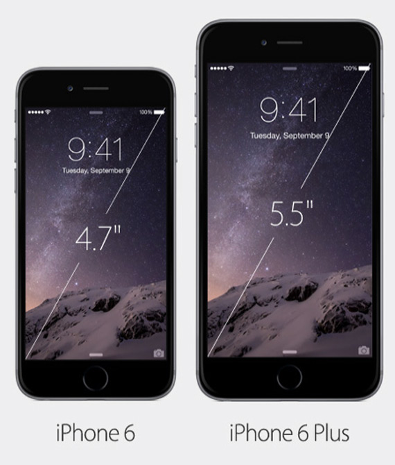 iPhone 6 iPhone 6 Plus revealed