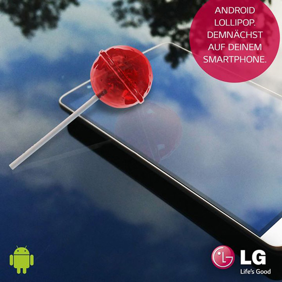 LG G3 Lollipop update